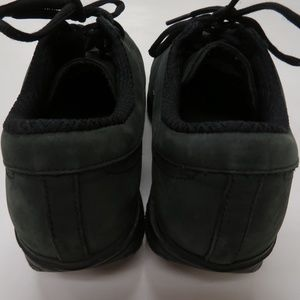 MBT Shoes - MBT Casual 01 Walking Shoes Black Leather Fitness